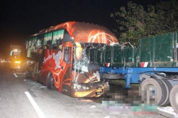 3 killed, 14 injured in Malaysia highway crash involving Singapore-bound bus