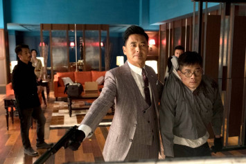 Age doesn't stop Chow Yun Fat from doing action sequences