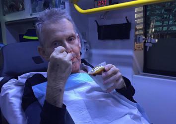 Australian paramedics fulfil dying man's wish for ice cream sundae