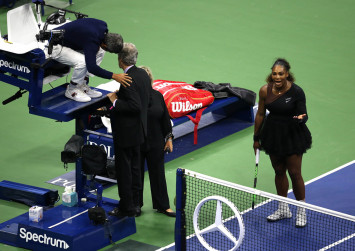Serena Williams fined $23,400 after US Open final outburst