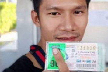 Thai man buys lottery tickets at the last minute, scores a $3.8m win