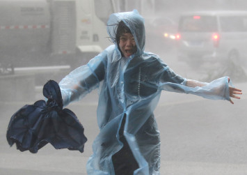 China provinces braced for heavy rainfall as Typhoon Mangkhut heads west