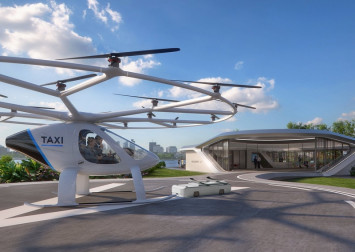 World's first flying taxi vertiport set to make landing in Marina Bay come October