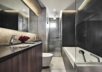 Singapore homes with spa-like bathrooms