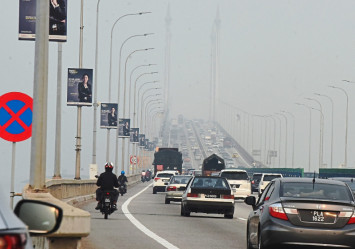 Penang expected to be hit by prolonged hazy conditions