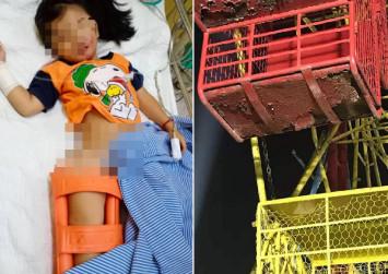 4-year-old M'sian girl breaks leg after falling from ferris wheel