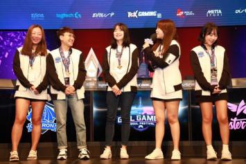 GirlGamer Asian Qualifier successfully held in Seoul