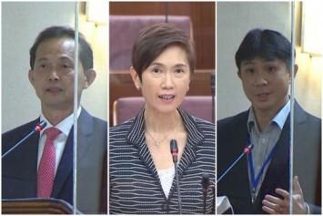 Josephine Teo spars with Jamus Lim, Leong Mun Wai in Parliament debate on PMET jobs