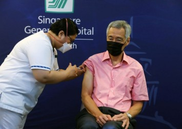 PM Lee gets Covid-19 booster shot, urges others to follow
