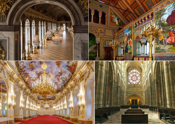 Inside Europe's 10 most beautiful castles and palaces