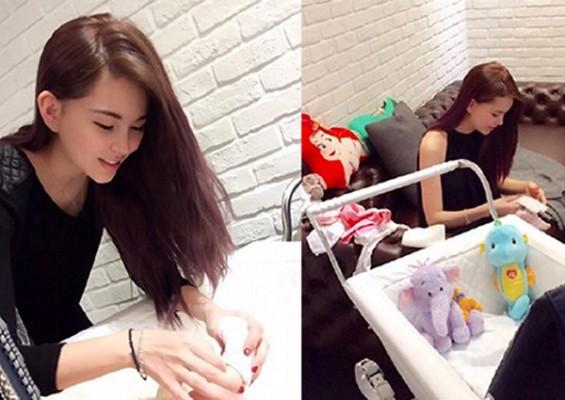 New mum Hannah Quinlivan seeks help from netizens after baby won't sleep