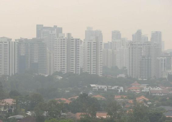 When is the haze dangerous?