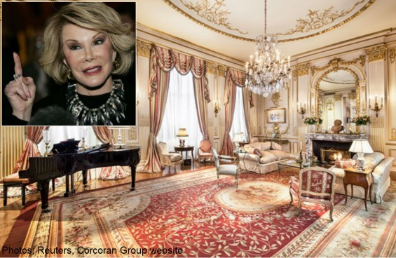 Joan Rivers' apartment sold to Middle East royalty