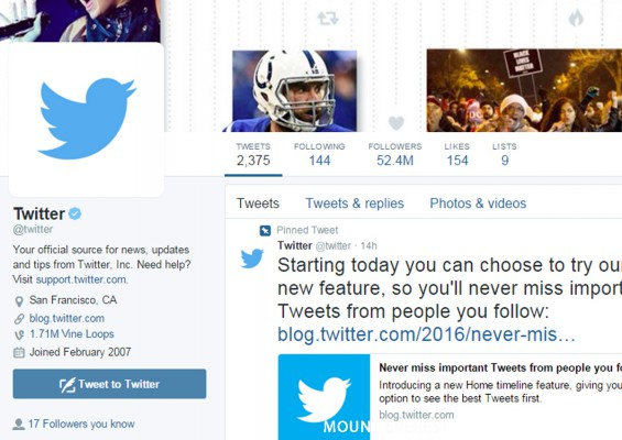Twitter latest product tweak fails to wow: Timeline to show most interesting tweets