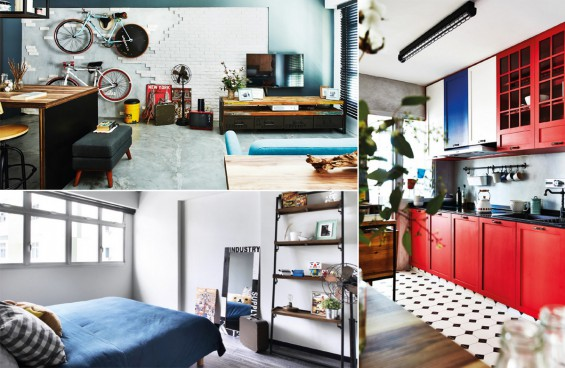 Punggol HDB gets rustic-industrial look for $45,000