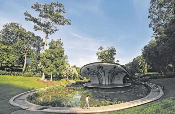 Steps to add more shine to Botanic Gardens 'heirloom'