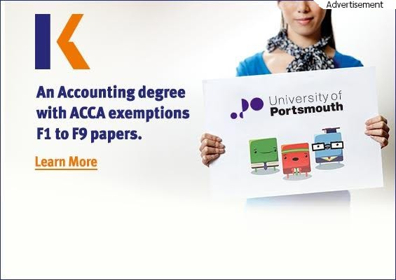 Complete your accountancy degree & ACCA papers in 18 months