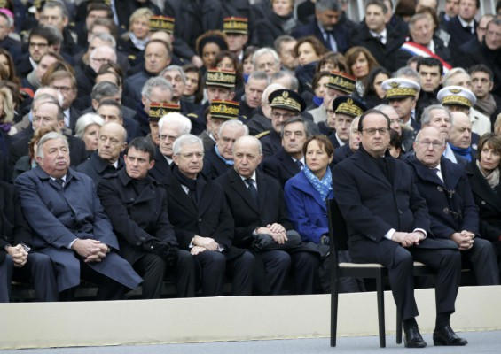 In response to 'army of fanatics', Hollande vows 'more songs'