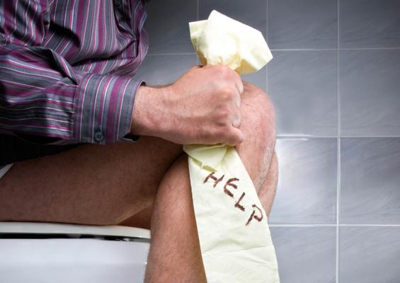 5kg stool removed from man who was constipated for 10 years