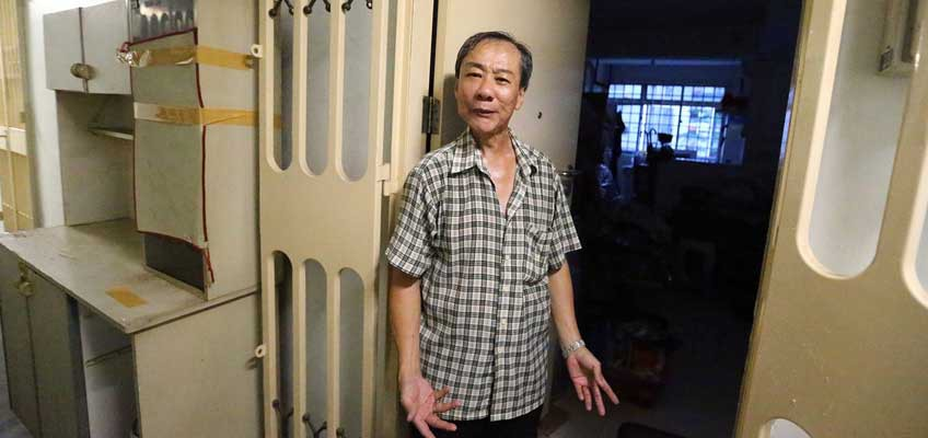 Released from jail, ex-flat owner created a ruckus to reclaim home