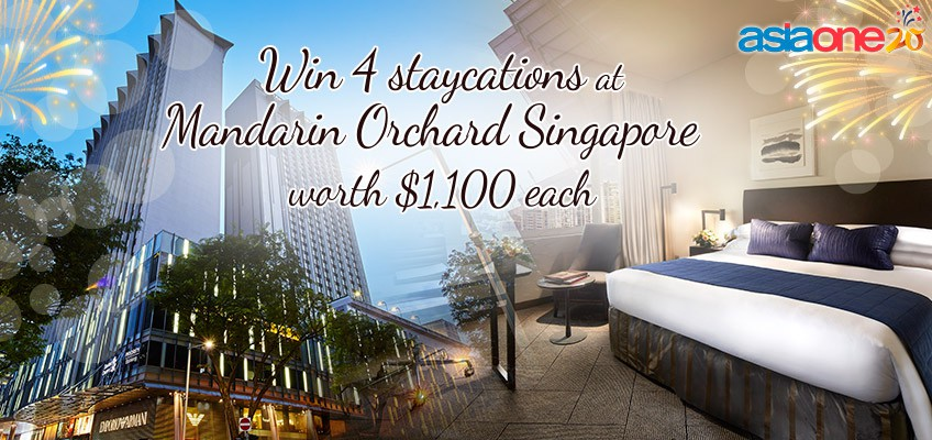Celebrate AsiaOne's 20th anniversary and win 4 Mandarin Orchard staycations