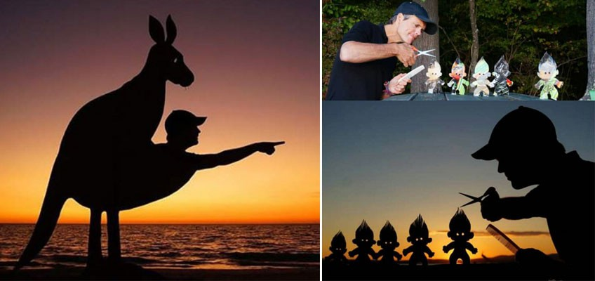 Award-winning TV producer creates stunning selfies with sunset as backdrop
