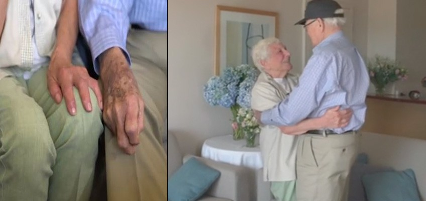 Long-lost love: WWII sweethearts reunited more than 70 years later