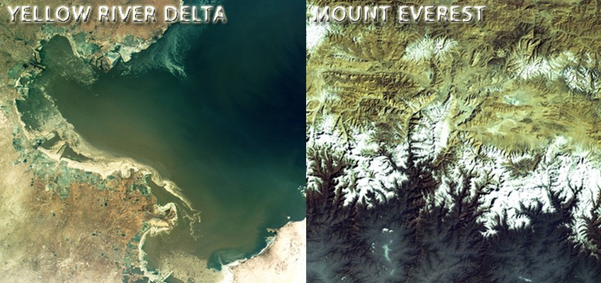 See Mount Everest from space: China releases satellite images of our stunning earth