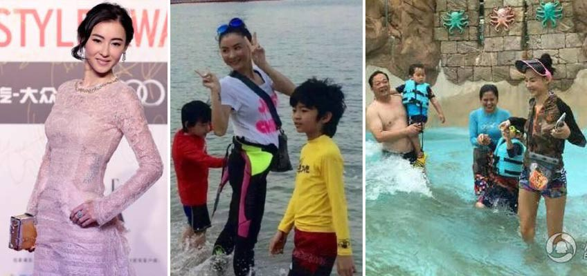 Perfect way to bond: Cecilia Cheung's holiday photos with sons will make your heart melt