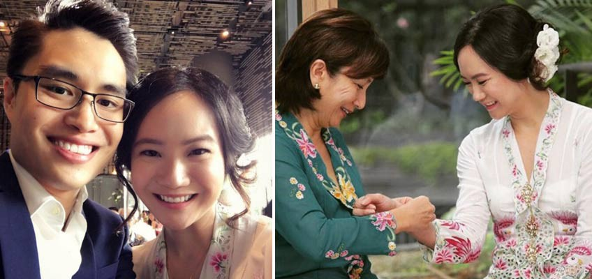 Ex-politician Nicole Seah met engineer hubby, 29, with the help of their mothers