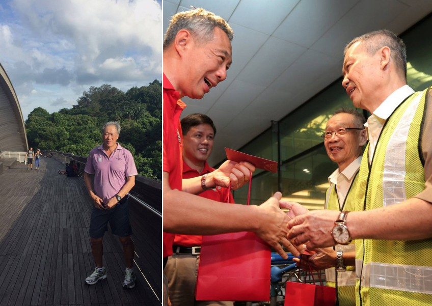 Making Canto dishes, burning off calories with walks: See what our ministers did over CNY