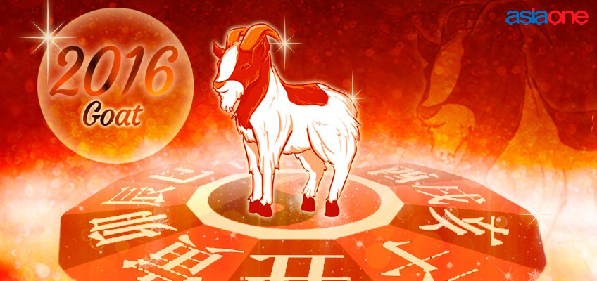 Love luck for those born in the Year of the Goat in 2016