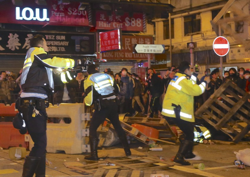 Dozens face riot charges over Hong Kong Lunar New Year violence