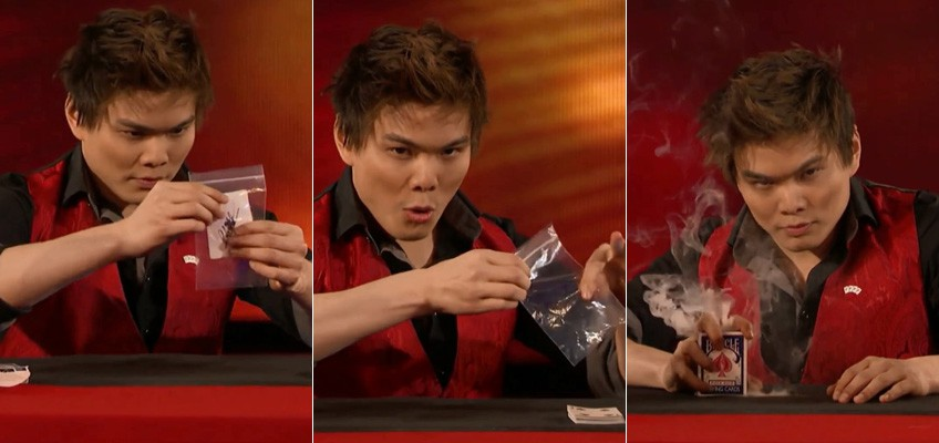 Singapore-raised magician's routine wows famed US magic duo