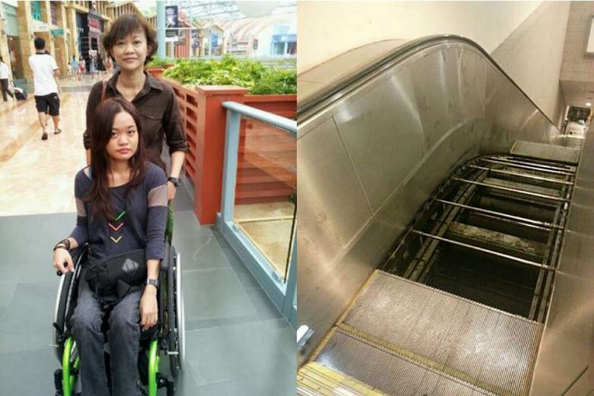 SMRT settles lawsuit over escalator fall