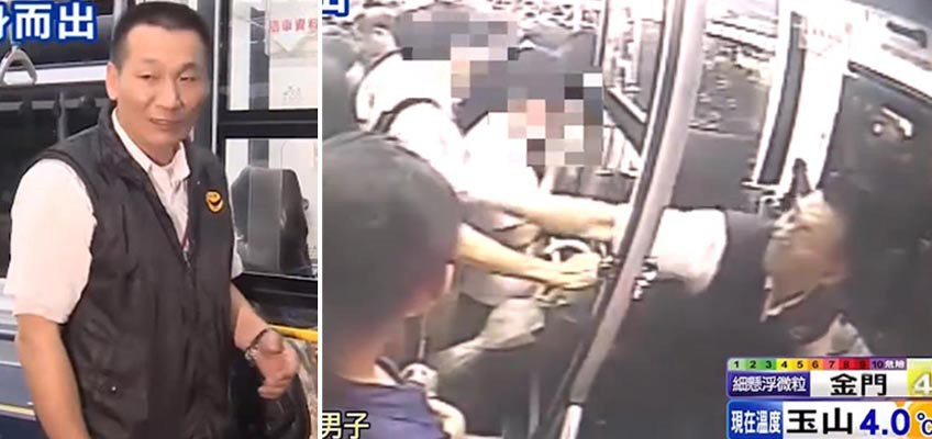 Bus driver becomes a hero for detaining molest suspect