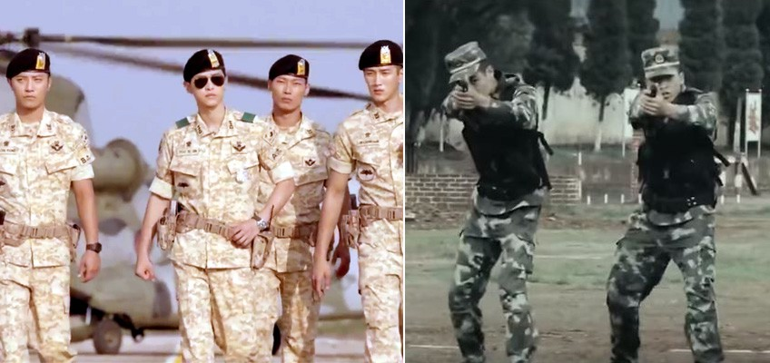 New Chinese military recruitment video: Cooler than Descendants of the Sun?