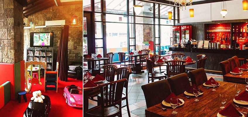 10 child-friendly restaurants where little ones can eat and play