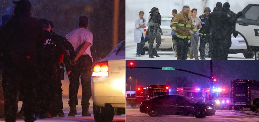 3 dead, 9 wounded in Colorado shooting; Gunman arrested