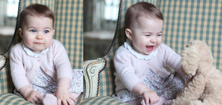 Proud mum Kate releases adorable new photos of Princess Charlotte