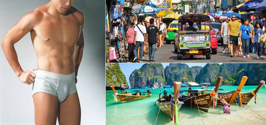 Holidaying in Thailand? Remember to wear underwear before you go out