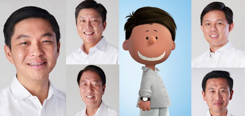 How Singapore's new Cabinet looks like after being 'Peanutised'