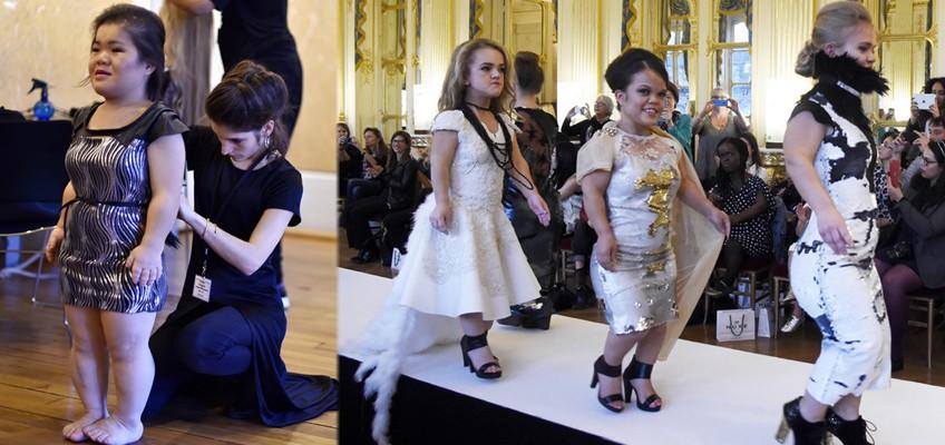 Models under 1.3m wow at Paris Fashion Week