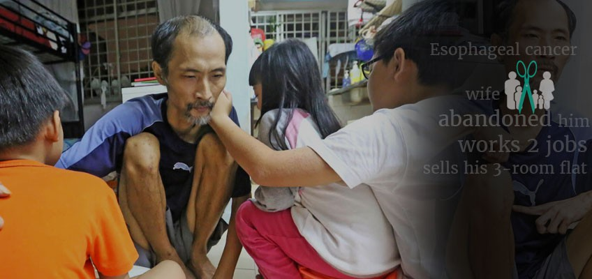 Outpouring of help for cancer-stricken single dad in S'pore